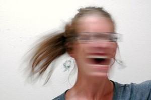 slika bijesne žena